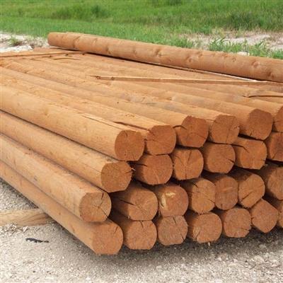Landscape Timber 8 Trt Cedartone